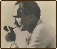 Ο Νίκος Καζαντζάκης Σεπτέμβριος 1933.  (φωτογραφία Renaud de Jouvenel).
